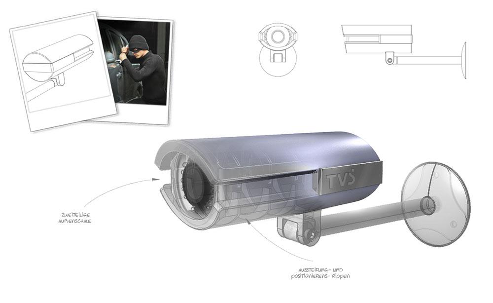 TVS | Kamera System | Entwicklung Produkt Design