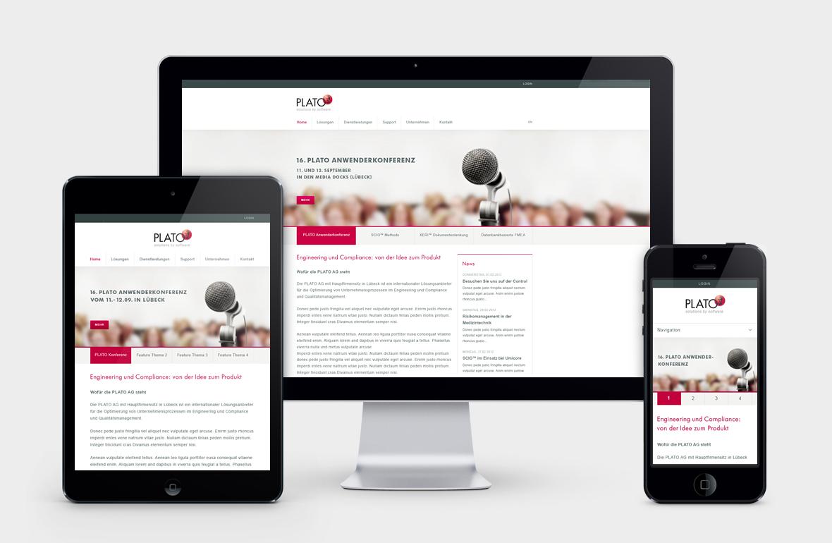 Plato AG – Corporate Website