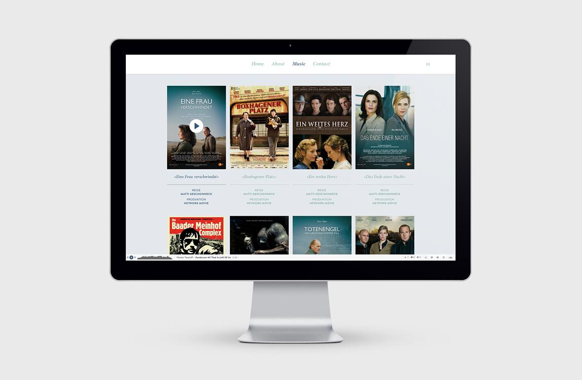 Florian Tessloff – Portfolio Website