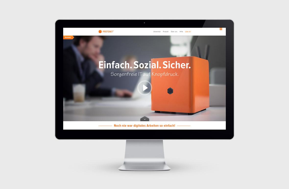 Protonet – Corporate Website