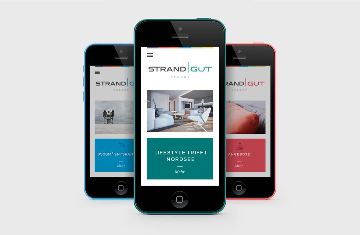 Strandgut Resort – Corporate Website