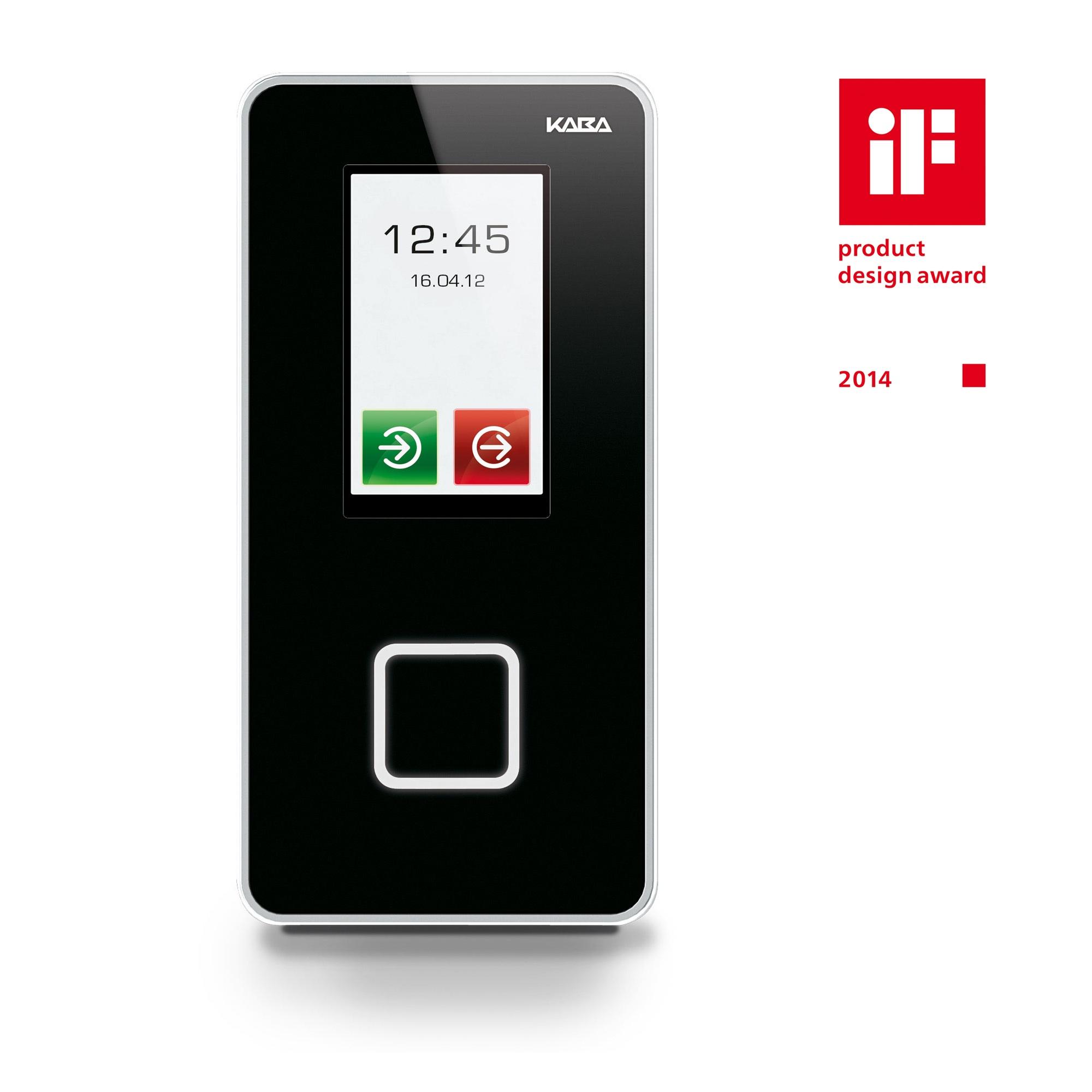 Ausgezeichnetes Design von Indeed: iF Award für Kaba