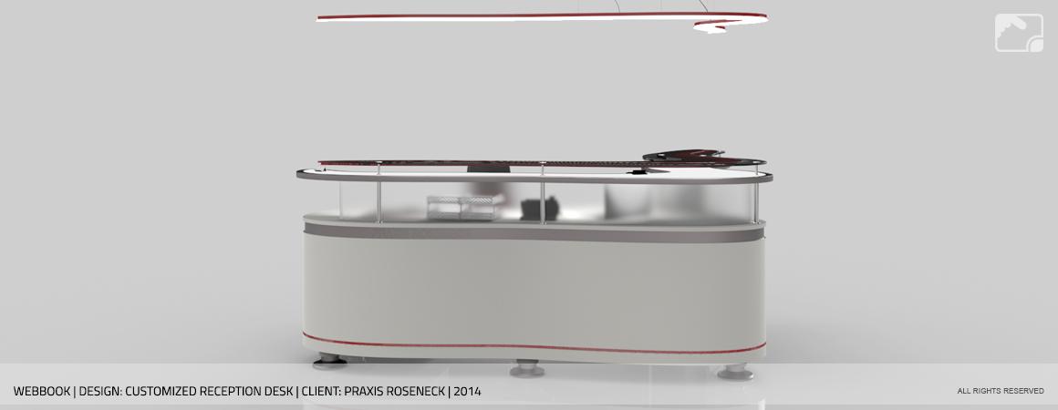 Design Frontdesk Praxis Roseneck