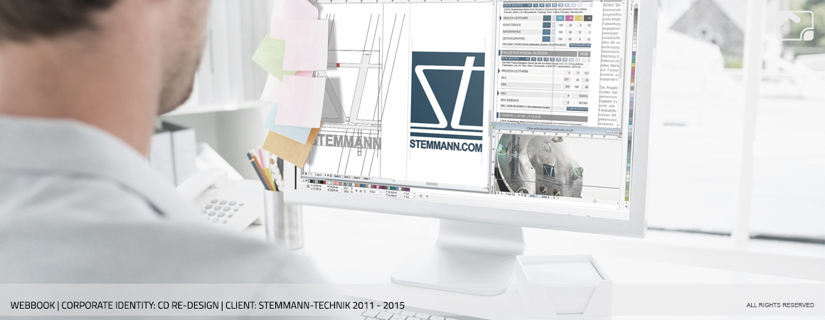 Corporate Design Stemmann-Technik