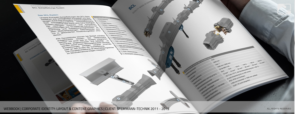 Catalogue Content Graphics Stemmann-Technik