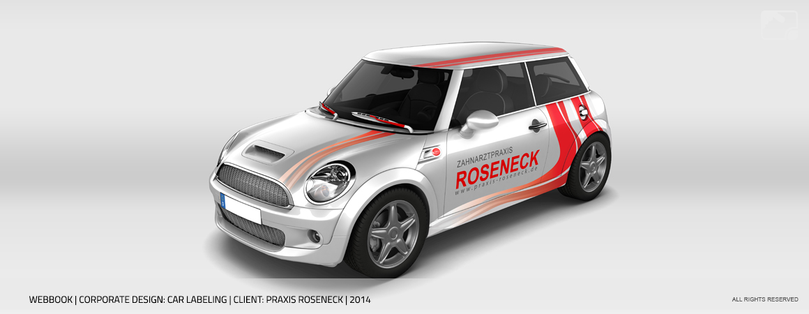 Car Labeling Praxis Roseneck